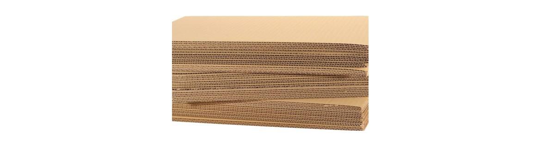 Planchas de cartón ondulado